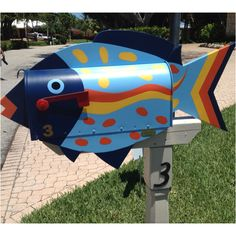 Fish Mail Box #letterboxes