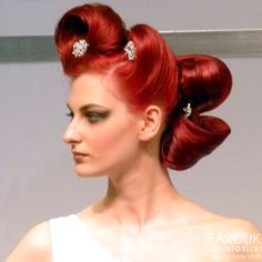 Hair sculpture by Farouk Artist Rocky Vitelli