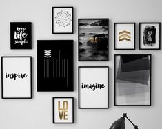 18 New Ideas bedroom art decor hallways Art Room Posters, Bedroom Art, Bedroom Black, Bedroom Ideas, Bedroom Frames, Living Room Art, Black Decor, Diy Wall Art, Frames On Wall