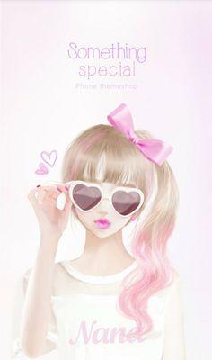 Imagen de Enakei, girl, and Nana Lovely Girl Image, Girls Image, Tumblr Gril, Big Eyes Artist, Korean Anime, Chica Cool, Girly M, Cute Girl Wallpaper, Cute Anime Pics