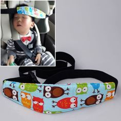 Practical Safety Car Seat Sleep Nap Aid Baby Kids Head Support Holder Belt Owl * Ver el elemento en detalles haciendo clic en la VISITA botón