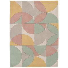 5000** ** akryl Šedý koberec  Asiatic Carpets Harlequin Oldschool, 230 x 160 cm