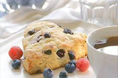 Our Blueberry-White Chocolate Chunk Scones are perfect for coffee klatches, potlucks, bake sales, desserts...and any other time deliciousness is called for!