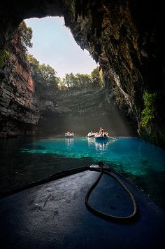 Melissani lake, Kefalonia Island, Greece