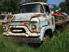 1957 GMC truck. Would Make an Awesome Rescue/Recovery Truck