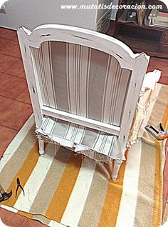 Chalk Paint, Magazine Rack, Upholstery, Cabinet, Chair, Storage, Interior, Crafts, Painting