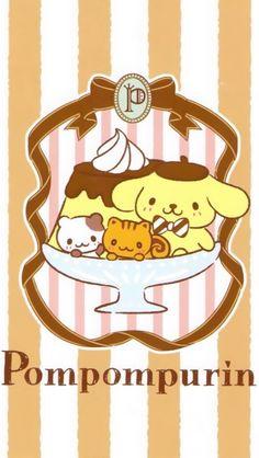 Pom Pom Purin (⌒▽⌒) #sweets