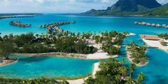 Top 10 Best Resorts for Families: Four Seasons Bora Bora, Tahiti