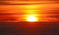 Naplemente, Tengeri Felhők, Napfény