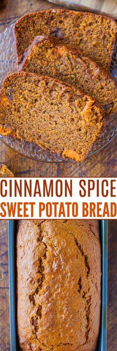 Best Dessert Recipes, Fall Recipes, Holiday Recipes, Holiday Foods, Pumpkin Recipes, Breakfast Recipes, Sweet Potato Bread, Sweet Potato Recipes, Fruit Bread