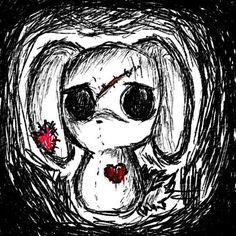 #emo #bunny #emo #art