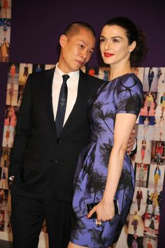 Jason Wu and Rachel Weisz - Celebrities the CFDA Fashion Awards in New York - arm / sleeve shot