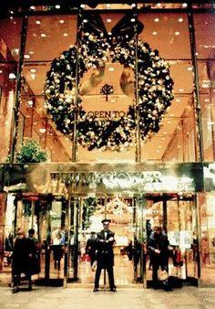 Trump Tower Christmas!
