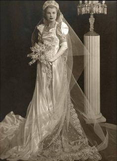 Charlotte    On her wedding day, 1939