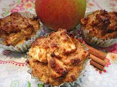 Apfel-Zimt-Muffins in der Low Carb-Variante. Ein süß-fruchtiger herbstlicher Genuss mit Äpfeln aus der Region.