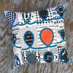 Tutorial pillow backing and facing.