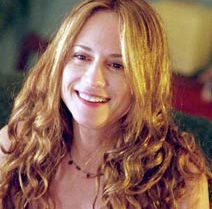 I like Holly Hunter in the role of Sandy. I wish I could find a picture of her in a baseball cap so that it could fit that opening scene in the book.