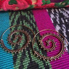 Gypsy earrings Gypsy Indian earings hand made in India Jewelry Earrings