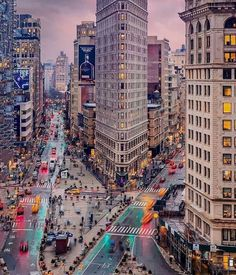 Flatiron Building, New York Life, New York Art, Empire State Building, Times Square, Earth City, Voyage New York, Autumn In New York, New York Photography