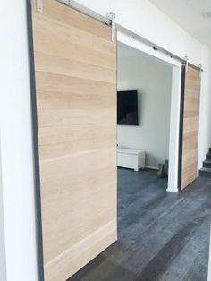 Interior Barn Doors   Malibu Home Renovation Part 50