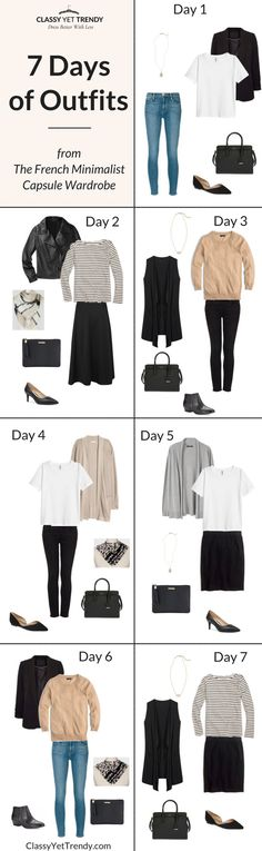 7 Days of Outfits (Fall Edition)