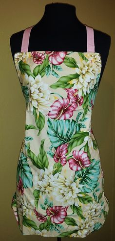 Audrey apron in vintage south pacific fabric  Sold Out Seth@houseofsandol.com Copyright ©2011-14 HOUSE OF SANDOL