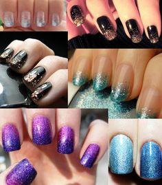 Nails Nails Nails sponge gradient, super glitter!