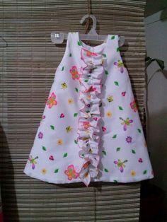 Vestido para niña de 3 a 5 años facil de hacer animate