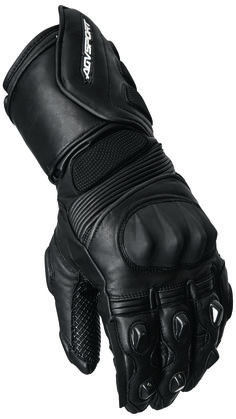AGVSPORT Sierra (Black) Glove - Full length, all weather sport glove, constructed from tear/abrasion resistant cowhide leather, insulated for the cold, TPU plastic knuckle armor, extra padding in areas of high impact. Click on the picture for more information!