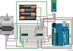 Électronique en amateur: Appli Android pour contrôler un moteur pas à pas par bluetooth (Arduino)