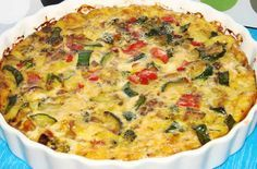 Vegetable flan with thermomix. I propose you a delicious recipe Flan d Veg Quiche Recipe, Veggie Quiche, Quiche Recipes, Breakfast Quiche, Breakfast Recipes, Vegetarian Recipes, Cooking Recipes, Healthy Recipes, Yummy Recipes