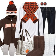 Cleveland Browns Winter Fashion