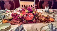 Thanksgiving Centerpiece 2014