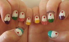 kids nail art | Easy Nail Designs For Short Nails At Home