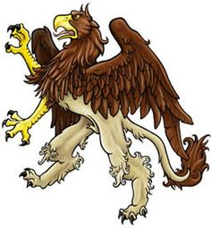 A great modern segreant Gryphon, drawn by Jill Johansen
