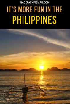 They Say It's More Fun In The Philippines - Is It?