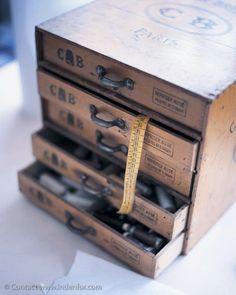 Sewing drawer