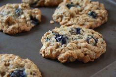 Blueberry Crisp Cookies
