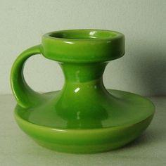 vtg-60s-70s-green-handled-Pop-Art-Steuler-pottery-candle-holder-Cari-Zalloni