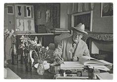 Henri Matisse à son domicile, Vence, France, 1944, Henri Cartier-Bresson.