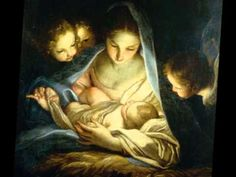 Madonna Painting - Holy Night by Carlo Maratta Blessed Mother Mary, Blessed Virgin Mary, Divine Mother, Catholic Art, Religious Art, Mama Mary, Mary And Jesus, O Holy Night, Christmas Nativity