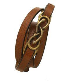 Vacation Style -  Snake Leather Belt