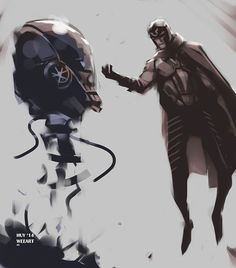 The Younger Magneto vs Sentinel