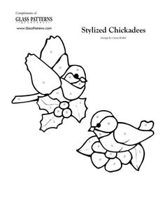 ★ Stained Glass Patterns for FREE ★ glass pattern 379 ★