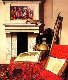 Jan van der Heyden – Room Corner With Rarities – 1712 – Museum of Fine Arts, Budapest