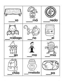Spanish Lessons For Kids, Spanish Teaching Resources, Spanish Language Learning, Language Activities, Preschool Activities, First Grade Calendar, Summer Worksheets, Montessori, Sight Word Worksheets
