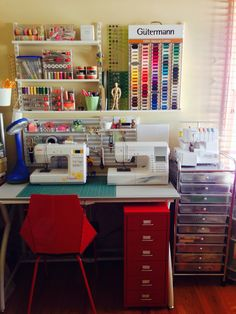 sewing room idea