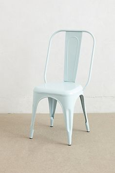 Redsmith Dining Chair  #anthropologie ...love the pale pale blue!  I'm thinking find some cheaper and spray paint em