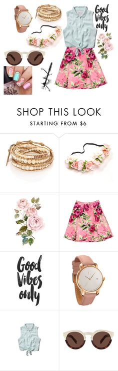 """""""Spring time"""" by cookart66 ❤ liked on Polyvore featuring Chan Luu, Love Moschino, MVMT, Abercrombie & Fitch, Illesteva, women's clothing, women, female, woman and misses"""