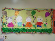 child`s day bulletin board